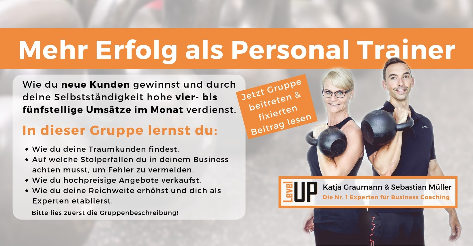 Personal Trainer Business Community